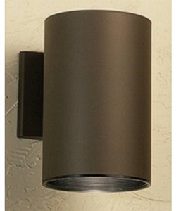 Kichler Cans and Bullets 1-Light Outdoor Wall Lantern Architectural Bronze 9236AZ